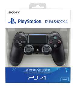 PS4 DualShock 4 Controller Black V2 £36.85 @ Shopto