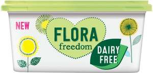 Flora Freedom Dairy Free Spread (500g) was £1.80 now £1.00 @ Tesco