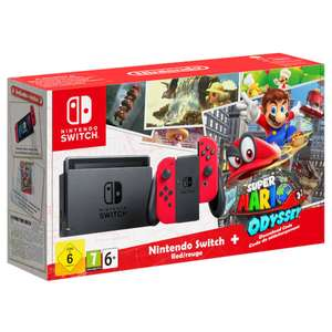 Nintendo Switch Mario Odyssey Limited Edition £296.99 with BNPL code OR £299.99 using code @ Very + Other PS4/Xbox/Switch Bundles