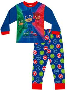 Cheap Pyjamas incl. PJ masks!! £9.99 / £12.94 delivered @ The pyjama factory