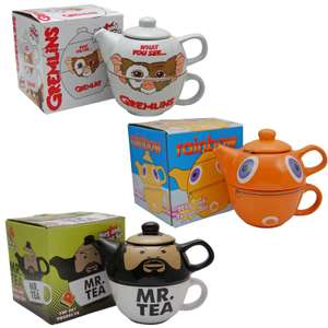 Retro Teapots - Gremlins / Mr. Tea / Doctor Who / Tweety Pie / Zippy Designs £15.94 each delivered @ Retro-Television / eBay