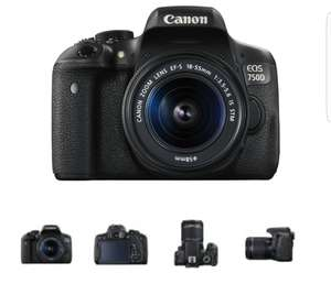 Canon EOS 750D Kit with 18-55mm IS STM Digital SLR Camera £407.99 @ Toby deals