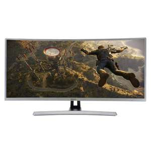 "ElectriQ 34"" 2K Quad HD Freesync Curved Gaming Monitor £329.97 @ Laptops Direct"