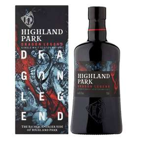 Highland Park Dragon Legend 43.1% Scotch Whisky 70cl - £30 @ Tesco