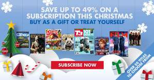 save up to 49% on subscriptions @ My Favourite Magazines