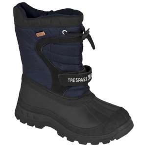 Kukun Kids Pull On Snow Boots  £8.54 with code (tVCGwJJ10) plus £2.95 delivery at Trespass