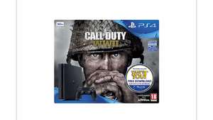 PlayStation 4 500Gb Call of Duty: WWII black console PREORDER £229 @ TESCO