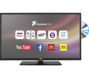"JVC LT-32C675 32"" Smart LED TV with Built-in DVD Player £179.99 @ Currys"