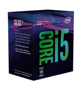 Intel Core i5-8400 4GHz max turbo boost Six Cores Processor £188.99 @ Ebuyer
