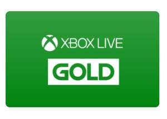Xbox live gold - Zeek - £32.20 (£26 with TCB)