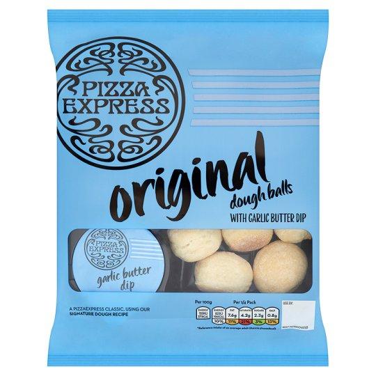 Pizza Express Dough Balls With Garlic Butter Dip 200g £1.50 (Was £3.00) At Tesco