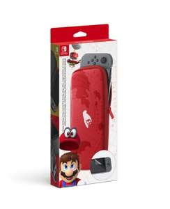 Nintendo Switch Accessory Set, Super Mario Odyssey Edition Carrying Case, Mario Red - £12.95 @ John Lewis & Amazon Prime