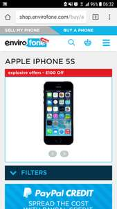 IPhone 5s 16gb refurbished space grey 12m warranty next day delivery space grey £99.99 - envirofone