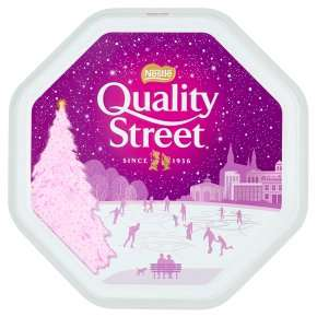 Quality Street milk chocolate tin 1.2kg £7 @  Waitrose