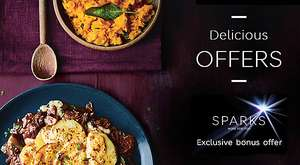 Collections meal deal for £10 at M&S - 2 MAINS, 1 SIDE, I DESSERT (+ Sparks offer of additional side)