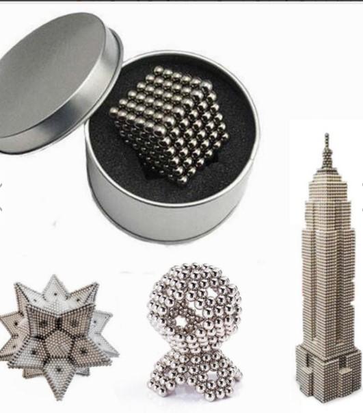 216Pcs 5mm Sliver DIY Neo Cube Magic Beads Magnetic Balls Puzzle £7.72  BangGood