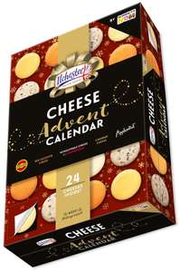 The World's First Cheese Advent Calendar available at Asda on the 9th of Nov.