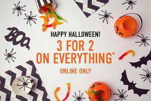 3 For 2 on Everything at H Samuel Online - On top of existing offers!  TODAY ONLY