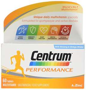 Centrum performance 60 £2.83 after netting off voucher for Amazon Prime users (£9.82 Non Prime)