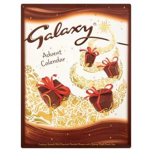 Dairy Milk,  Milkybar, Maltesears, Galaxy Advent Calendar Half Price £1.00 @ Morrisons