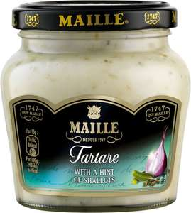 Maille wholegrain mustard (210g) was £1.49 now £1.00 @ Waitrose