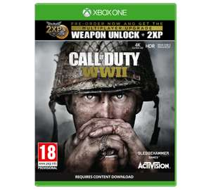 £10 TopCashback on Call of Duty WW2 when buying at Argos (Full Price £47.99) XBOX ONE & PS4