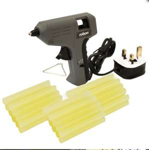 Rolson Glue Gun 240V + 30 pack Glue Sticks £1 @ B&M In store deal