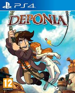 Deponia PS4 - £9.91 @ coolshop