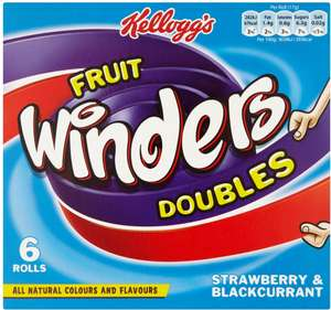 Kellogg's Winders Doubles Strawberry & Apple (6 x 17g) was £2.00 now £1.00 @ Ocado