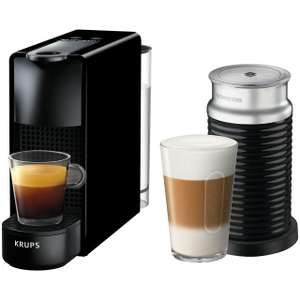 Nespresso by Krups Essenza XN111840 - Piano Black with £75 free pod vouchers - £104.40 with code @ AO