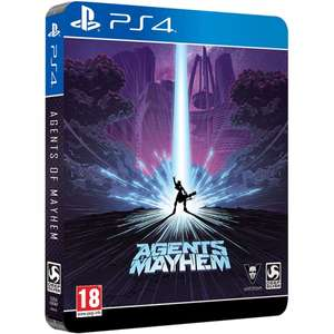 Agents Of Mayhem Day One Steelbook Edition (PS4/Xbox One) £17.99 Delivered @ 365games