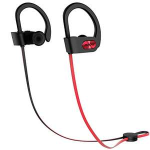 Mpow Bluetooth 4.1 Headphone, IPX7 Waterproof Sport Headphones and In-ear Earbuds £11.99 Delivered with code Prime / £15.98 Non-Prime Sold by longtop and Fulfilled by Amazon