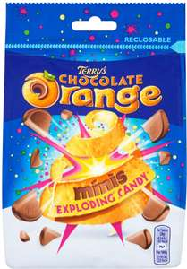Terry's Chocolate Orange Exploding Candy Minis (125g) was £1.00 now 75p @ Ocado