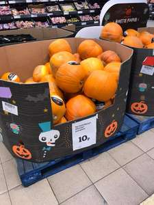Monster Pumpkins reduced to 10p @ Sainsburys Instore