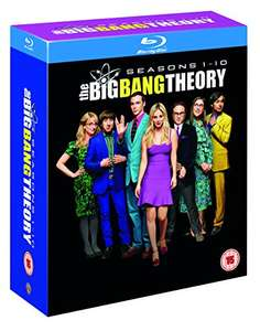 Big Bang Theory - Seasons 1-10 [Blu-ray] [2017] [Region Free] £59.99 Amazon