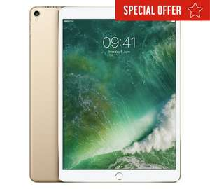10% off iPad Pro (e.g. iPad Pro 10.5 Inch WiFi 64GB - Gold £557.10) with code @ Argos