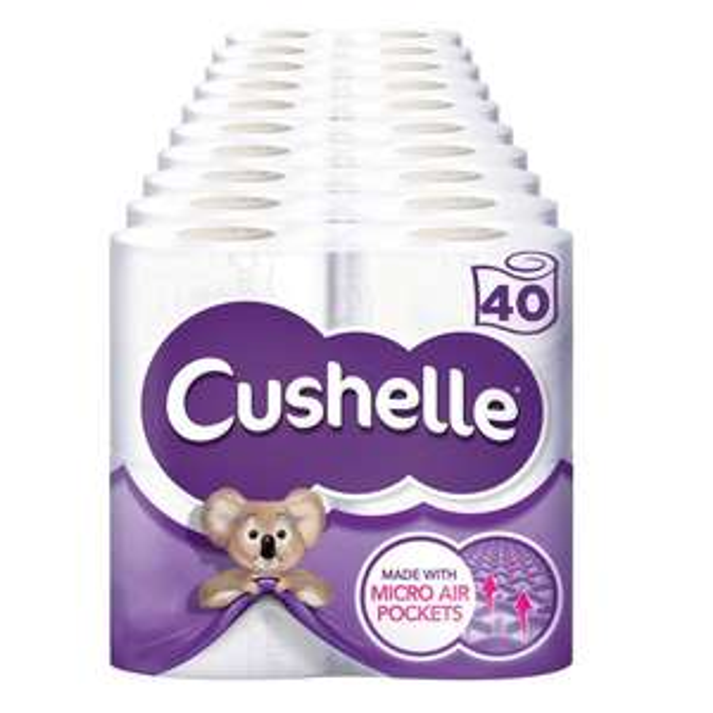 Cushelle 10 x 4 (40 rolls) £10.18 @ Costco (6th - 26th Nov)