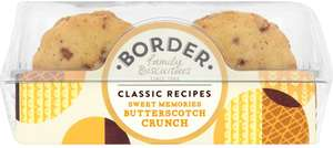 Border Butterscotch Crunch (150g) was £1.63 now £1.00 @ Morrisons
