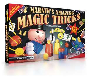 Marvin's Amazing Magic Tricks The Deluxe Edition (225 tricks) Half Price £10 @Morrisons Online/ In store