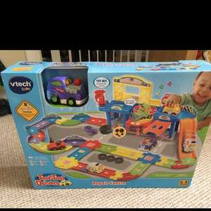 Vtech Toot Toot Drivers Repair Centre £15 Sainsbury's Hardwick Kings Lynn