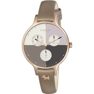 Radley Ladies Abbey Woodland Leather Chronograph Watch RY2430 just £39 with Gift Box & Free Next Day Delivery @ Watches2U (Using code)