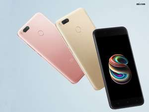 Xiaomi Mi A1 5.5 inch Smartphone Android One Dual Rear 12.0MP Cam Snapdragon 625 4GB 64GB IR Remote Control Full Metal Body - Gold £162.33 @ Geekbuying + Phone case for 46p