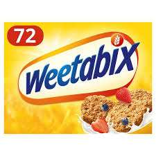 72 Weetabix for £4 @ Morrisons, Asda, Sainsburys and Iceland