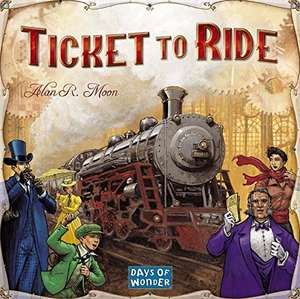 Ticket to Ride board game £21.99 @ Sold by Daily Deals Shop and Fulfilled by Amazon
