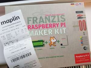 [Glitch] Raspberry Pi 3 Makers Kit - £34.99 @ Maplin (Pi 3 plus Guide + LED and components)