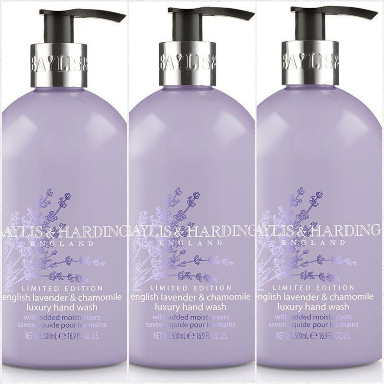Amazon add-on  3 bottles of Baylis & Harding English Lavender and Chamomile Hand Wash, 500 ml, (Pack of 3) £3.99