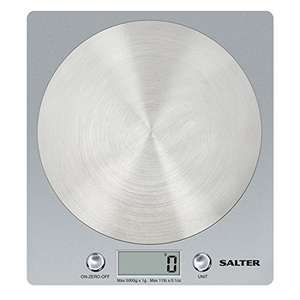 Salter Digital Kitchen Weighing Scales - 15Yr Guarantee £14.99 prime / £19.74 non prime @ Amazon