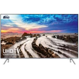 Samsung UE75MU7000 LED TV - £1,999 with code at Peter Tyson