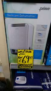 Prima desiccant dehumidifier only £69.97 @ Homebase instore