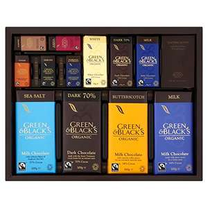 5 box's of Green & Blacks Connoisseur Collection, 580g £35.09 - £8.42 each @ Amazon pantry